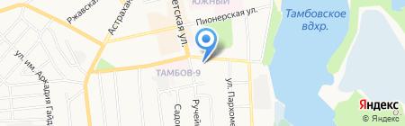 Мороженое №1 на карте Тамбова
