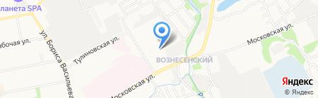 Газпром газораспределение Тамбов на карте Тамбова