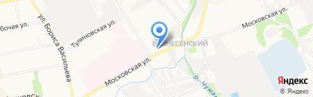 Тамбовское протезно-ортопедическое предприятие на карте Тамбова