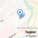 Воронежстройизыскания на карте Тамбова