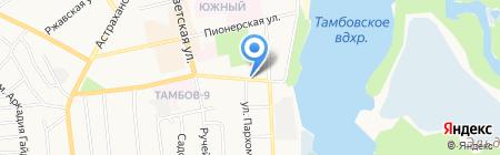 Сбытовик на карте Тамбова