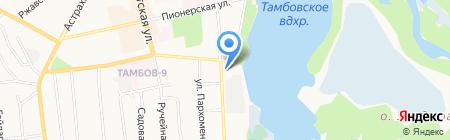 Альянс плюс на карте Тамбова