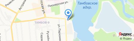 СанТехПроф на карте Тамбова