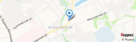 Гидротехник на карте Тамбова