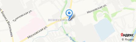 АЗС Роснефть на карте Тамбова