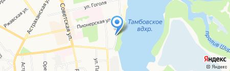 Отдых по-узбекски на карте Тамбова