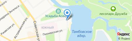ТЭКО-Сервис на карте Тамбова