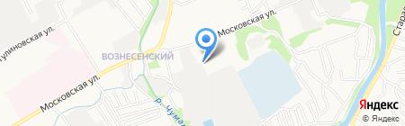 Магазин спецодежды на Московской на карте Тамбова