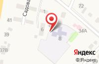 Схема проезда до компании Детский сад Ивушка, МАДОУ в Татаново