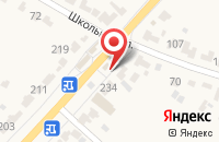Схема проезда до компании Аптечный пункт в Красненькой