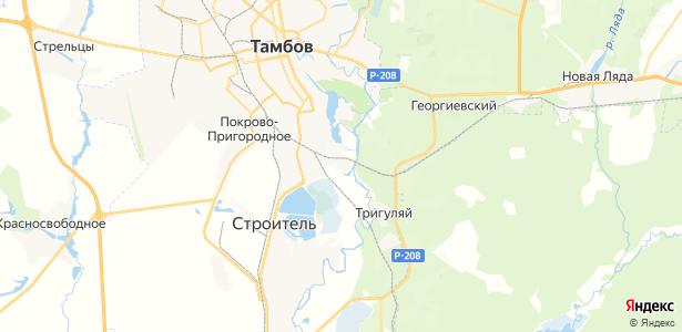 Перикса на карте