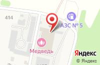 Схема проезда до компании Ригель в Красненькой