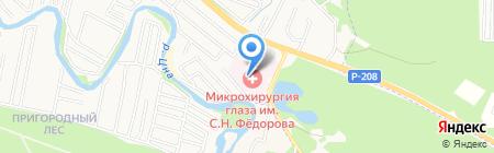 МНТК на карте Тамбова