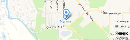 Продовольственный магазин на ул. 9 Пятилетки на карте Григорьевского