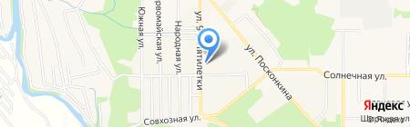 Самоделкин на карте Григорьевского