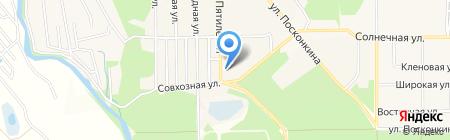 Отделение почтовой связи №1 г. Котовска на карте Григорьевского