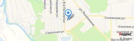 Рубль Бум на карте Григорьевского
