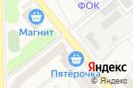 Схема проезда до компании Киоск по продаже фастфудной продукции в Котовске