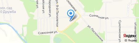 Солнышко на карте Григорьевского