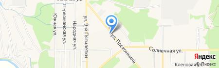 Велес на карте Григорьевского