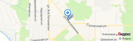 Теремок на карте Григорьевского