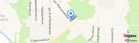 Аптечный пункт на карте Григорьевского