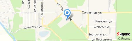 Средняя общеобразовательная школа №3 с углубленным изучением отдельных предметов г. Котовска на карте Григорьевского