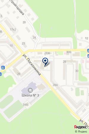 Комплект-сервис на карте Григорьевского