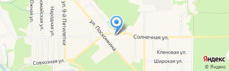 Центрально-Черноземный банк Сбербанка России на карте Григорьевского