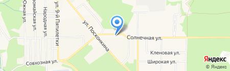 Наша мебель на карте Григорьевского