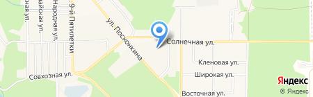 Магнит на карте Григорьевского