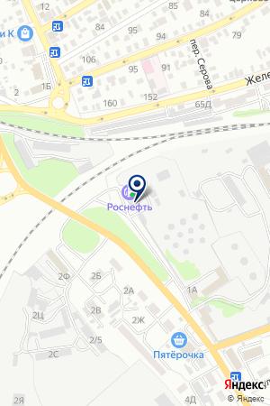НЕФТЕБАЗА ТНК ЮГ МЕНЕДЖМЕНТ на карте Сальска