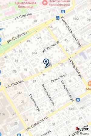 РОСТОВСКИЙ ФИЛИАЛ ВОЕННО-СТРАХОВАЯ КОМПАНИЯ на карте Сальска