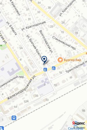 СТРАХОВАЯ КОМПАНИЯ РОССИЯ на карте Сальска