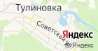 Тулиновская средняя общеобразовательная школа на карте
