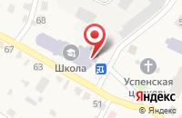 Схема проезда до компании Тулиновская средняя общеобразовательная школа в Тулиновке
