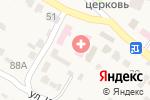 Схема проезда до компании Тамбовская центральная районная больница в Тулиновке