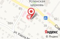 Схема проезда до компании Администрация Тулиновского сельского поселения в Тулиновке