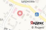 Схема проезда до компании Участковый пункт полиции в Тулиновке