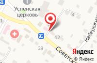Схема проезда до компании Тамбовфармация в Тулиновке