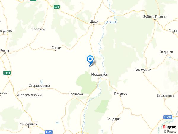 село Ракша на карте