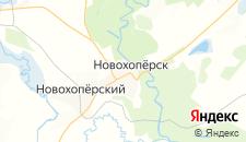 Гостиницы города Новохоперск на карте