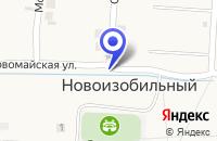 Схема проезда до компании ПТФ ВРЕМЯ в Изобильном