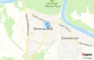 Местоположение на карте пункта техосмотра по адресу Ростовская обл, Шолоховский р-н, х Белогорский, ул Асфальтная, д 40