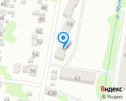 Схема местоположения почтового отделения 356145