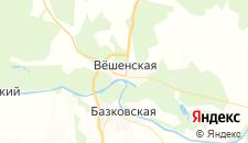 Отели города Вешенская на карте