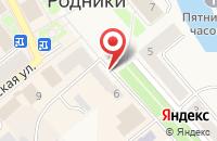 Схема проезда до компании Сибирский межрегиональный учебный центр в Родниках