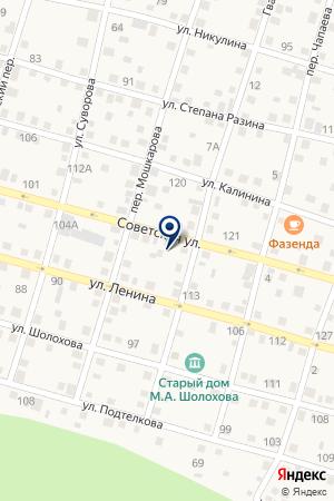 ЭНЕРГЕТИЧЕСКАЯ КОМПАНИЯ ДОНЭНЕРГО РО на карте Советской