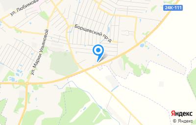 Местоположение на карте пункта техосмотра по адресу Ивановская обл, г Родники, проезд Малышевский, д 4