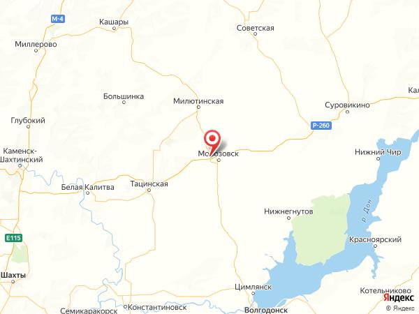 хутор Скачки-Малюгин на карте